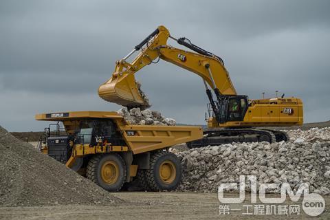 【云•拉展】卡特彼勒新一代Cat 395挖掘机亮相CONEXPO-CON / AGG