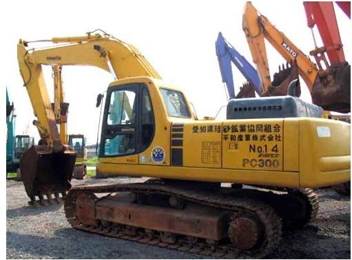 小松PC300HD挖掘机铲斗挖掘故障的排除