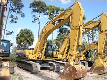 卡特307B挖掘机行走很慢是怎么回事?