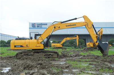 柳工新品HD系列新品挖机首发,近距